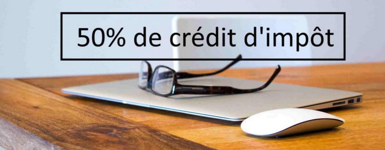 50% de crédit d'impot [image]